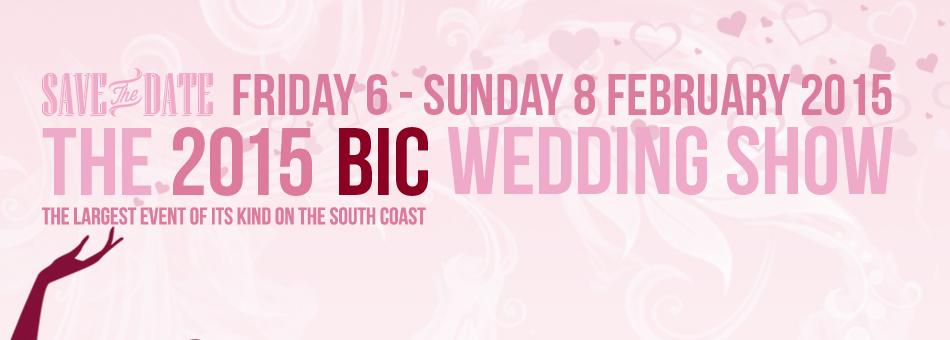 BIC Wedding Show Banner