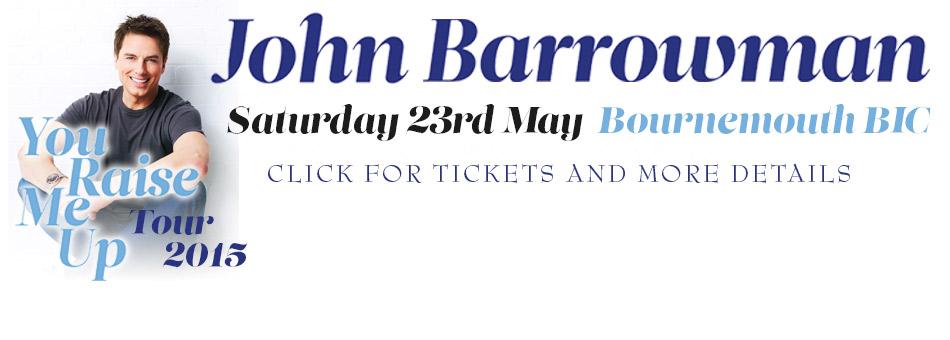 John Barrowman Banner