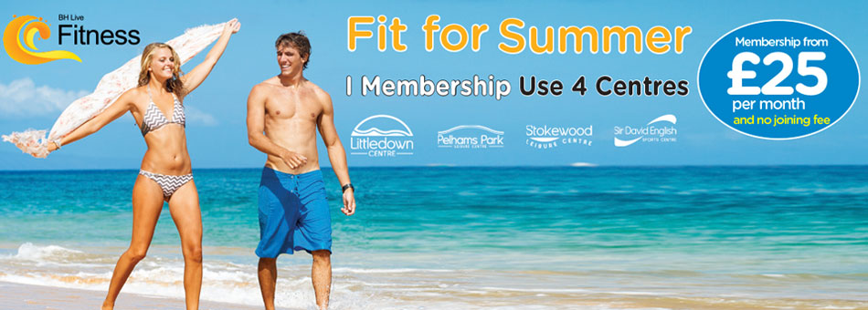 Membership 4 Centres Fit for Summer